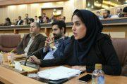 سخنرانی دبير انجمن جوانان کارآفرين ورنا به عنوان  نماينده جوانان استان گيلان به مناسبت روز جوان