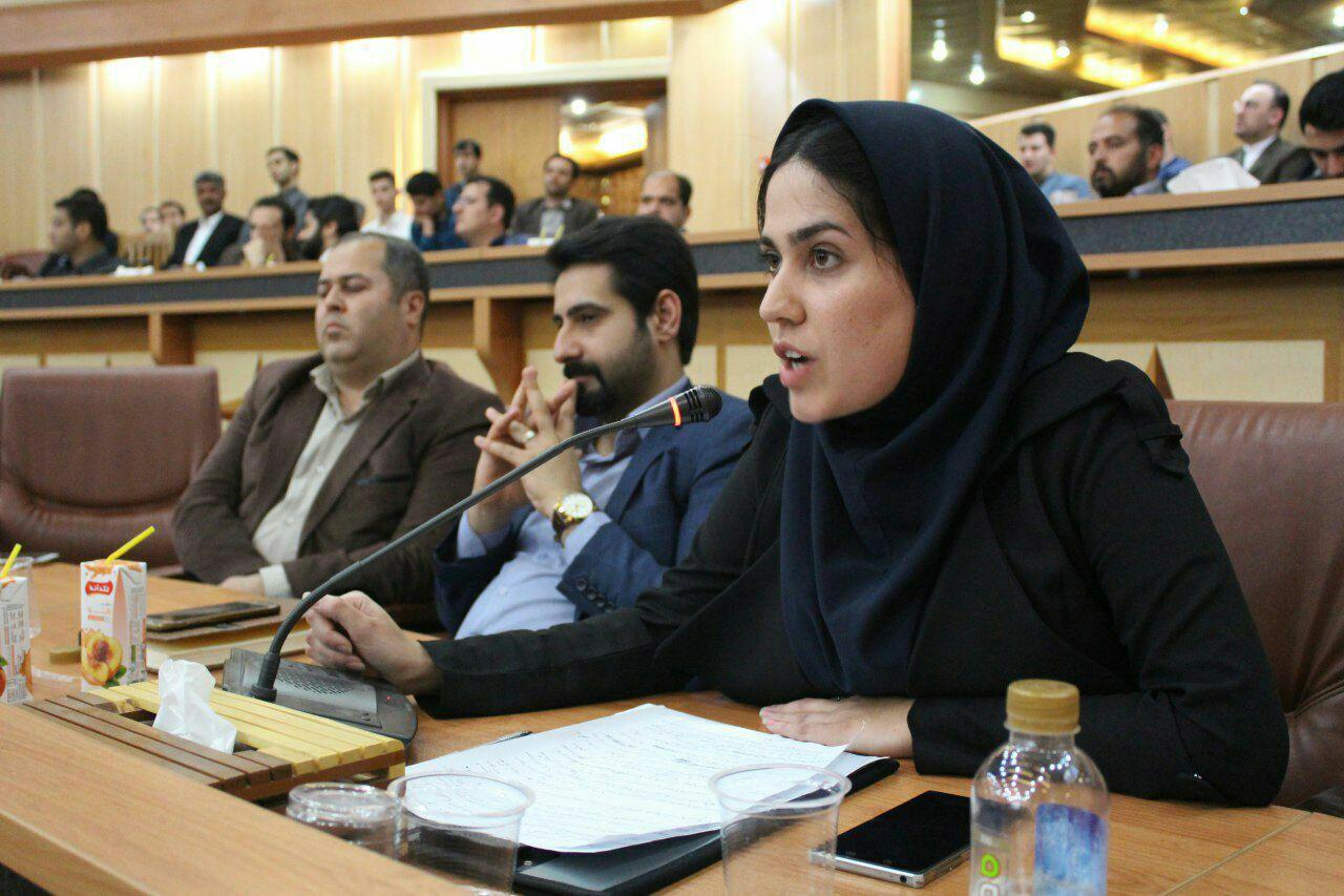 مصاحبه اختصاصی پریسا روی دل دبیر انجمن جوانان کارآفرین ورنا با روزنامه نقش قلم